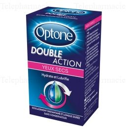 OPTONE DOUBLE ACTION YEUX SEC
